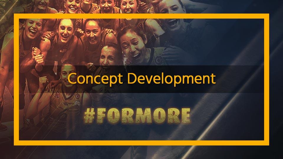 sports team social media concept