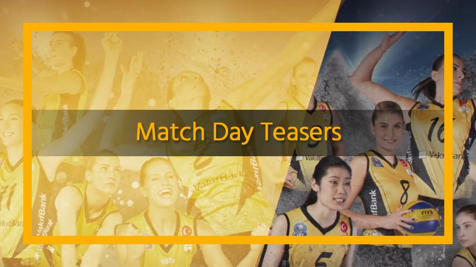 sports team social media match day teasers
