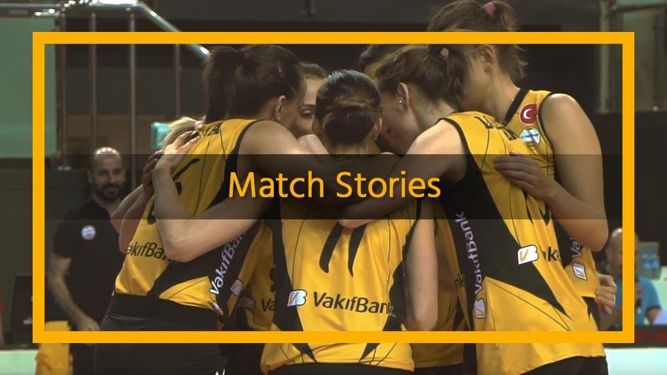 sports team social media match stories